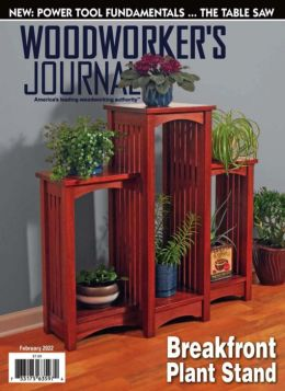 Woodworker's Journal - One Year Subscription