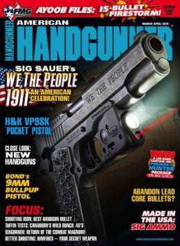 American Handgunner - One Year Subscription