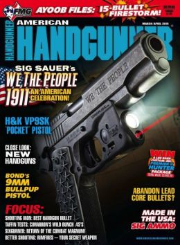 American Handgunner - One Year Subscription