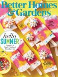 Magazine Cover Image. Title: Better Homes and Gardens - One Year Subscription