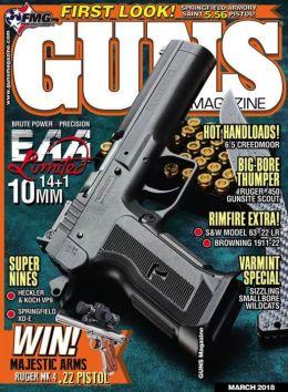 Guns Magazine - One Year Subscription