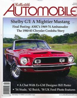 Collectible Automobile - One Year Subscription