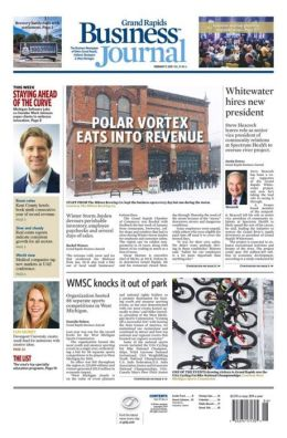 Grand Rapids Business Journal - One Year Subscription