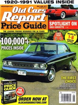 Old Cars Price Guide - One Year Subscription