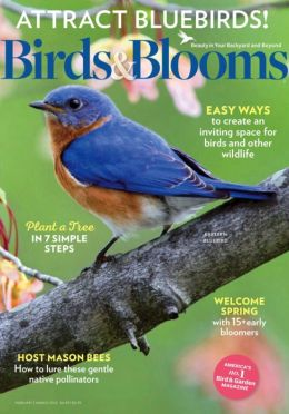 Birds & Blooms - One Year Subscription