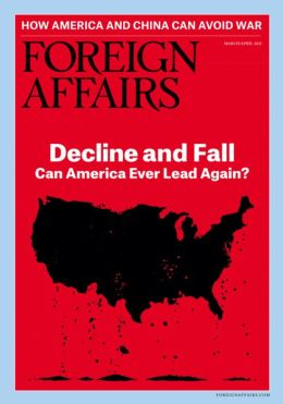 Foreign Affairs - One Year Subscription
