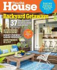Magazine Cover Image. Title: This Old House - One Year Subscription