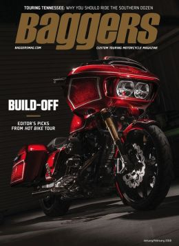 Hot Bike Baggers - One Year Subscription