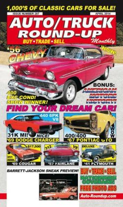 Auto/Truck Round-Up Monthly - One Year Subscription
