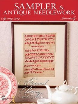 Sampler & Antique Needlework Quarterly - One Year Subscription