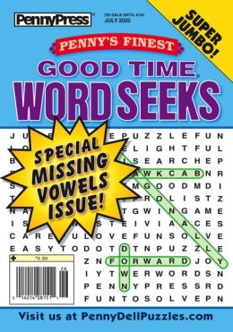 Penny's Finest Good Time Word Seeks - One Year Subscription