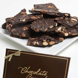 Dark Chocolate Almond Bark, 2 lbs.