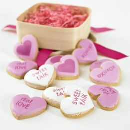 Conversation Hearts Cookie Gift Set