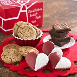 Be Mine Valentine Cookie & Brownie Gift Medley