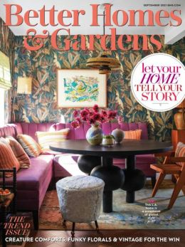Better Homes and Gardens - Two Years Subscription