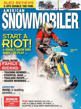 American Snowmobiler - One Year Subscription