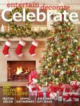 Magazine Cover Image. Title: Entertain Decorate Celebrate - One Year Subscription