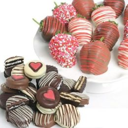 27 pc. Ultimate Love Strawberries & OREOs® Assortment
