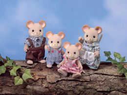 Calico Critters - Norwood Mouse Family