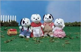 Calico Critters - Dalmatian Dog Family