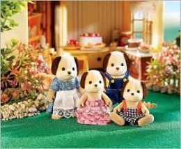 Calico Critters - Beagle Dog Family