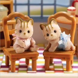 Calico Critters - Caramel Cat Twins