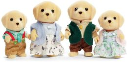 Calico Critters - Yellow Labrador Family