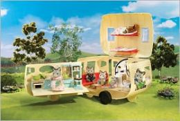 Calico Critters - Caravan Family Camper