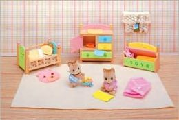 Calico Critters - Tanner & Tallulah's Nursery Fun Time