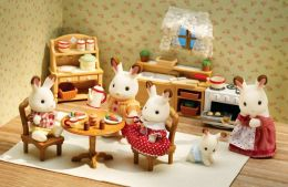 Calico Critters - Deluxe Kitchen Set