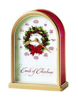 Howard Miller Carols of Christmas II Table Clock - 645-424