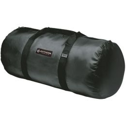 Outdoor Products 604730 Medium 12in. x 24in. Deluxe Duffle - Black