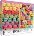 Product Image. Title: Macarons & Cupcakes 2 in 1 1000 Piece Multi Pack