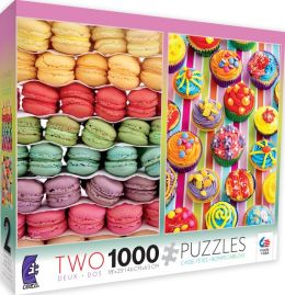 Macarons & Cupcakes 2 in 1 1000 Piece Multi Pack