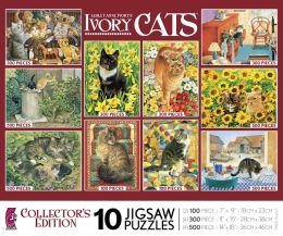 10 in 1 Ivory Cats multi-pack -3809-1