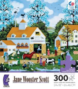 Jane Wooster Scott The Pet Vet 300 pc puzzle