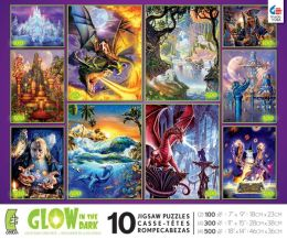 10 in 1 Glow in the Dark Multi Pack puzzles