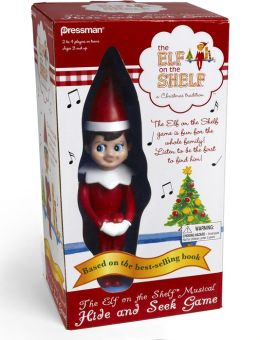 Elf on the Shelf Hide and Seek Game