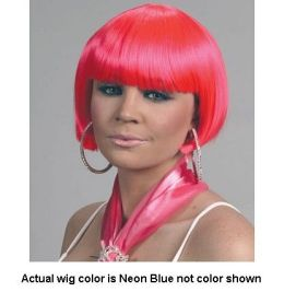 Alicia International 00171 NBLU Jessi Wig - Neon Blue