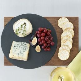 Off Set Circle Serving Board