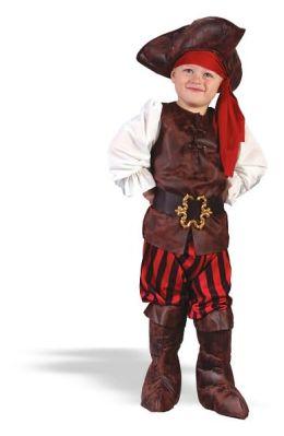 Boy High Seas Buccaneer Toddler Costume: Size Toddler (2T)