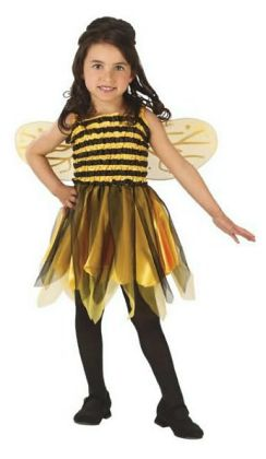 Bumble Bee Child Costume: Size 3T-4T