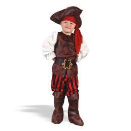 Boy High Seas Buccaneer Toddler Costume: Size Toddler (3T-4T)