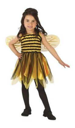 Bumble Bee Child Costume: Size 8-10