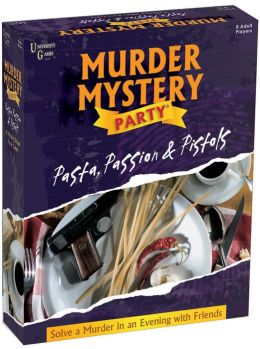 Murder Mystery Party: Pasta, Passion & Pistols