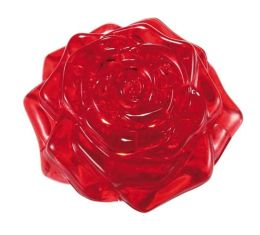 Crystal Puzzles - Rose (Red) 44 pc puzzle