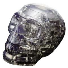 Crystal Puzzles - Skull 48 pc puzzle