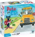 Product Image. Title: Pete the Cat: On the Bus 24 Piece Kids Puzzle
