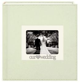 Alvin DA200SNTW 4 x 6 Our Wedding Photo Album - 200 Holds