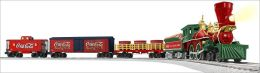 Coca Cola 125th Anniversary Vintage Steam Train Set
